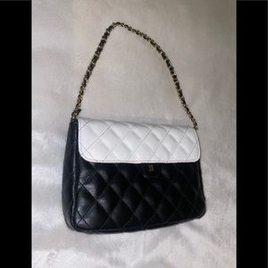 Black and White Quilted  Purse Janie and Jack